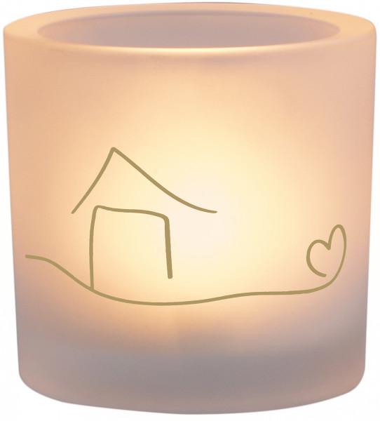 LichtMoment Glaswindlicht - Zuhause