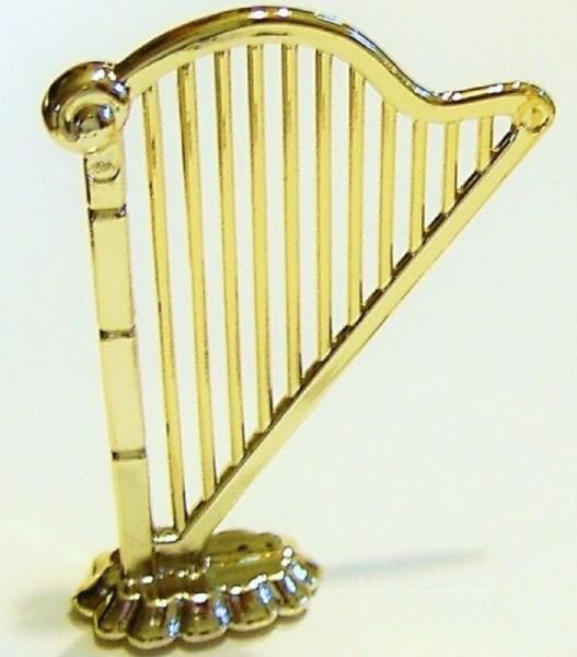 Deko Harfe aus Plastik