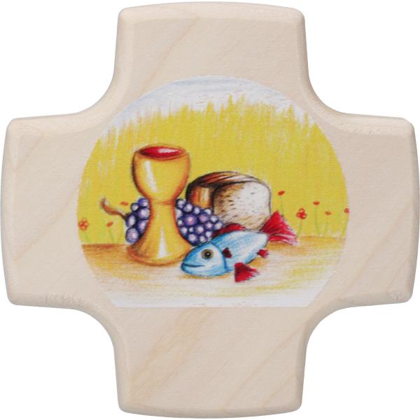 kleines Kommunionkreuz Holz, Gabenbereitung