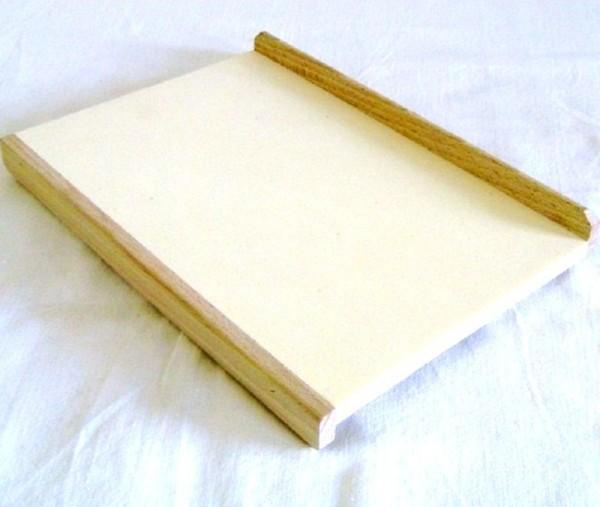 Kinderteigbrett, Backbrett aus Holz 22cm x 14cm