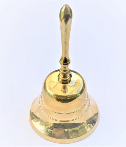 Messingglocke mit Griff 85mm, Tischglocke