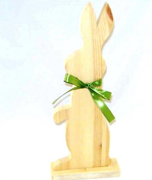 Hase C, Tisch- Wohnraumdeko aus Holz im Landhausstil
