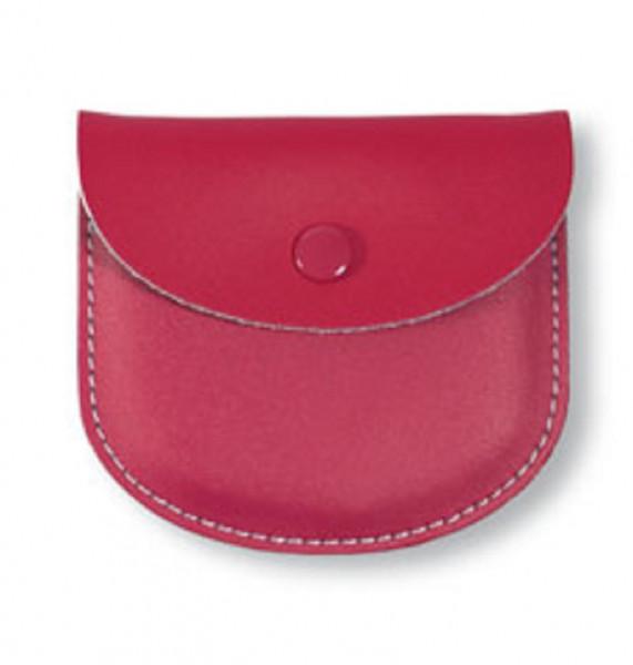Rosenkranztäschen-Leder - Etui für Rosenkränze rot