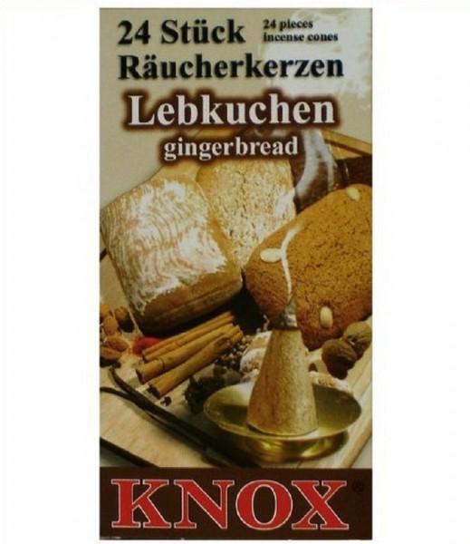 Knox Räucherkerzen, Räucherkegel versch. Duftrichtungen