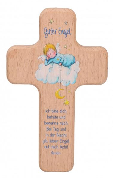 Kinderholzkreuz - Kreuz Motiv Guter Engel