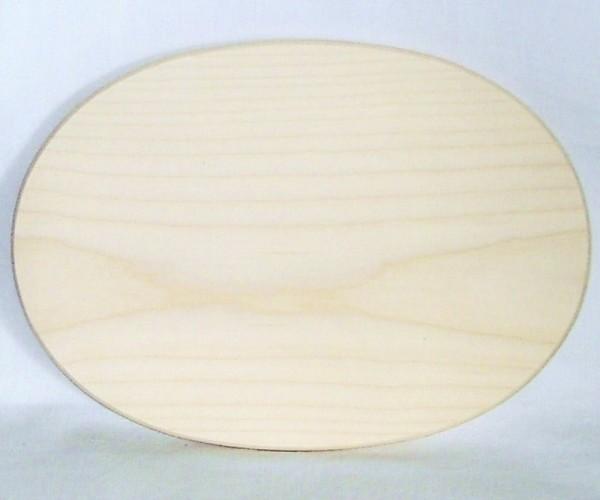 Brotzeitbrett, Vesperbrett, Schneidbrett oval 26x18cm