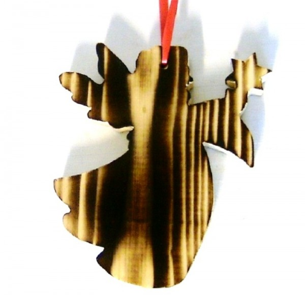 Baumaufhänger Engel Christbaumschmuck Holz Traditionell