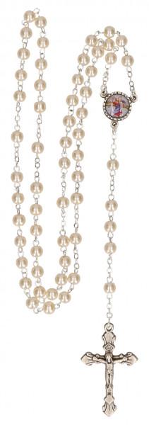 Rosenkranz - mit Kunststoff-Perlen, 49262