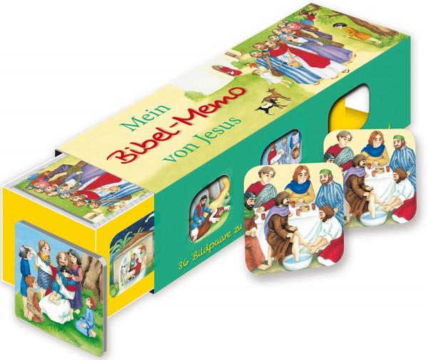 Mein Memo von Jesus - Kartenlegespiel
