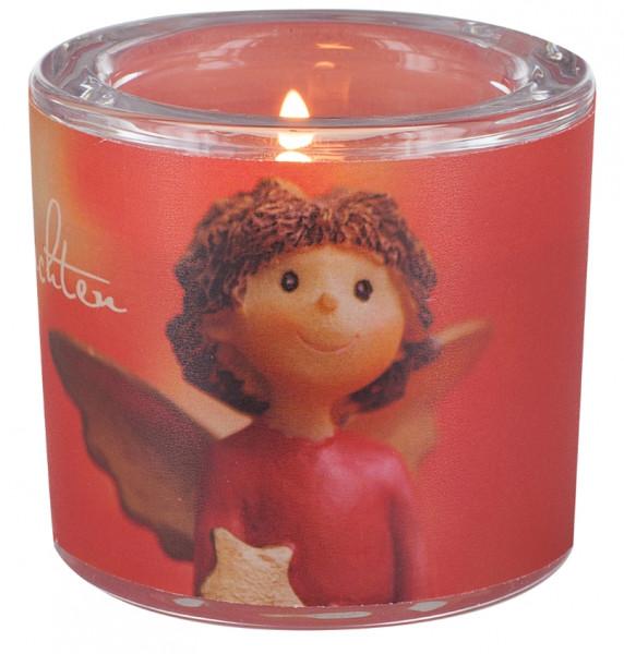 LichtMoment Glaswindlicht - Kleiner Engel