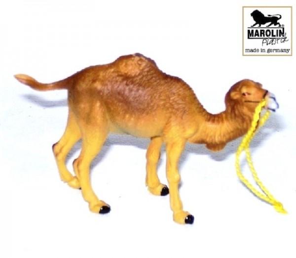 Kamel, Krippenfigur 7cm Kunststoff, Marolin Plastik Figur