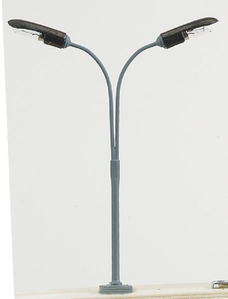 Mini Eisenbahnlampe 19V Peitschenlampe doppelt Spur HO