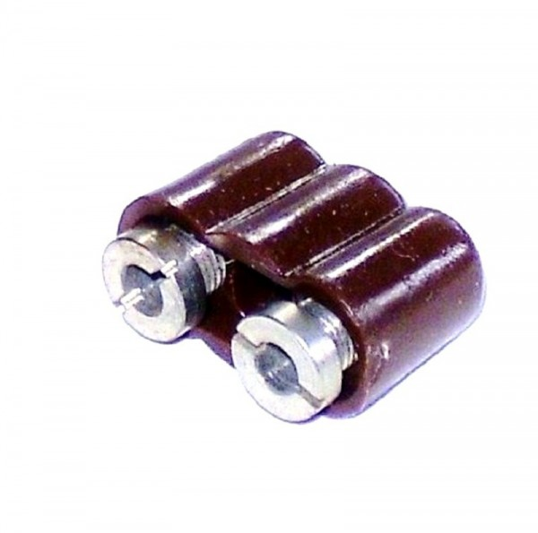 Kupplung 8mm, braun für den Krippen- und Modellbau