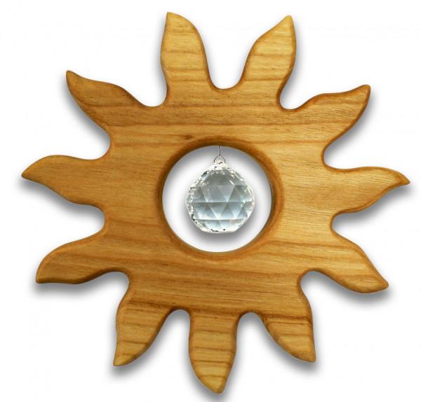 Fensterschmuck Sonne 12cm, Kristallkugel 2cm