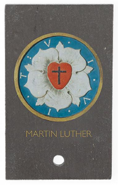 SchieferMoment zum aufstellen - Lutherrose