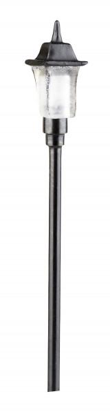 Miniatur Eisenbahnlampe 16V Spur HO 5cm H ohne Stecker
