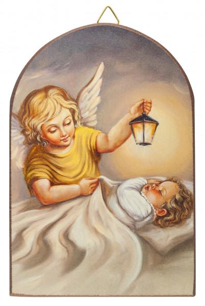 Engel-Bild Baby mit Engel 15 x 10 cm, 79/59