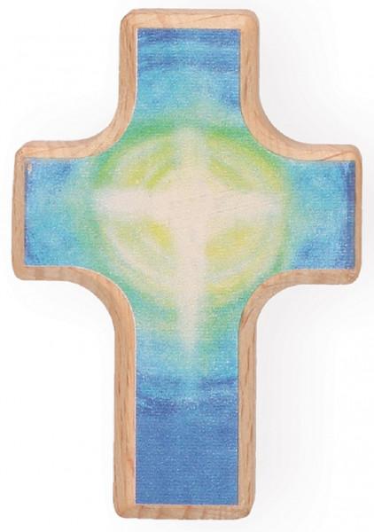 Handschmeichlerkreuz Holz - der Herr segne dich