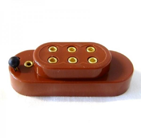 Batteriekappe für 3,5V Lämpchen für Krippen- Modellbau