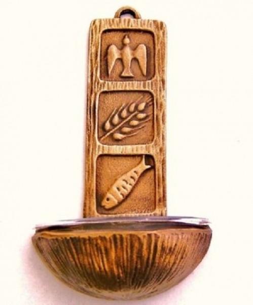 Weihwasserkessel aus Bronze Dev927
