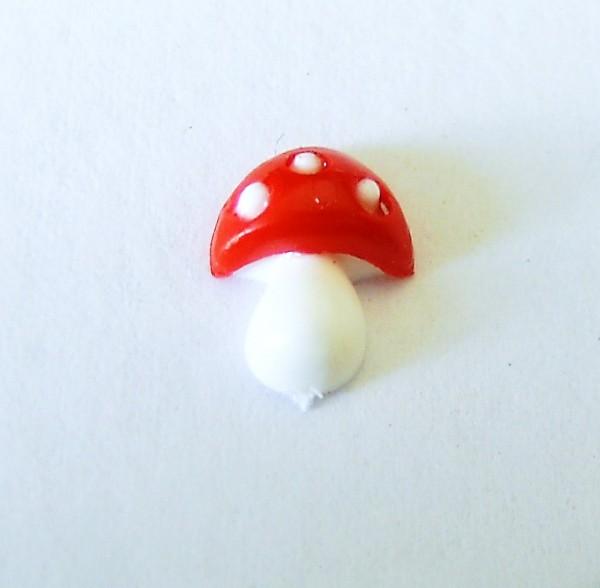 mini Fliegenpilz 8mm, aus Kunststoff