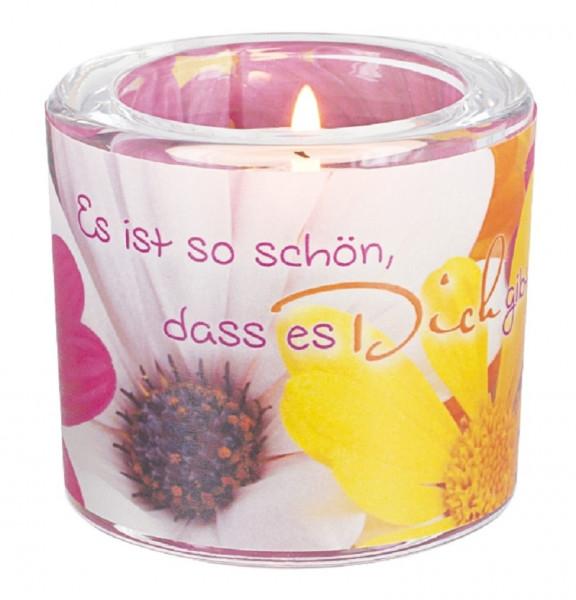 LichtMoment Glaswindlicht - Schön, Dass es dich..