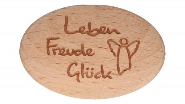 Handschmeichler Holz - Leben, Freude, Glück