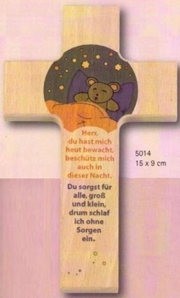 Kinderkreuz Kreuz Holzkreuz, Gute Nacht, Christliches Geschenk