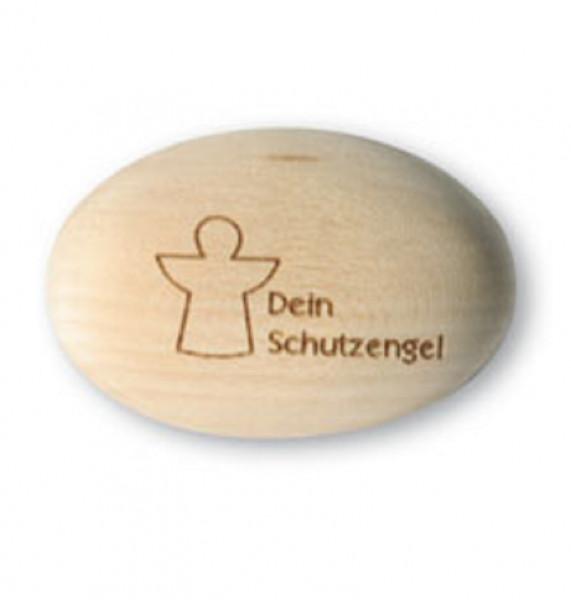 Handschmeichler Holz - mit Motiv Schutzengel