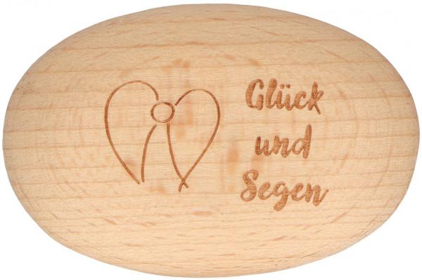 Handschmeichler Holz - Glück und Segen