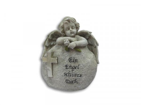 Engel am Stein lehnend Ein Engel schütze Dich