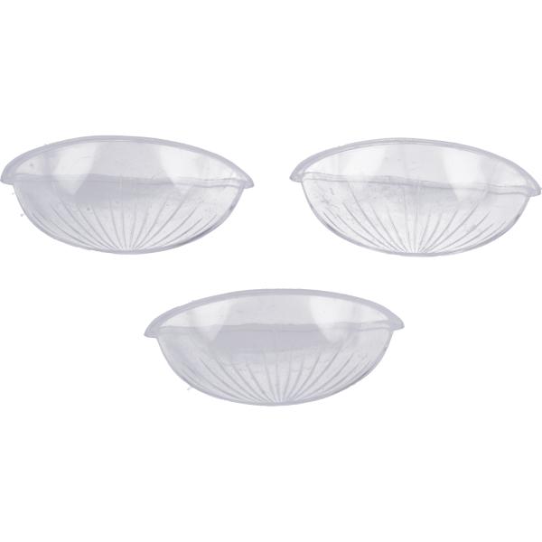 3 Stück- Set Einsatz für Weihwasserkessel, klein