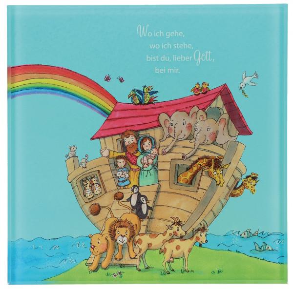 Acrylglas-Relief farbig bedruckt - Arche Noah