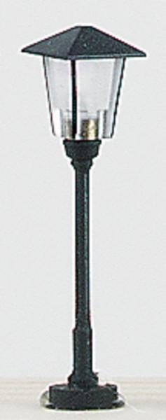 Miniatur Eisenbahnlampe 19V Spur N, Straßenlaterne einflammig 3,5cm H