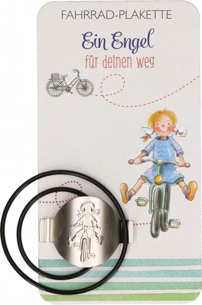 Fahrrad-Plakette - Ein Schutzengel für deinen Weg