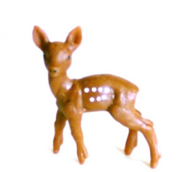 Tierfigur Bambi Rehkitz, Sammelfigur Plastik